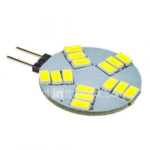 daiwl g4 5W 15x5630smd 330lm 5500-6500k ampoule blanche conduit spot frais (12v)