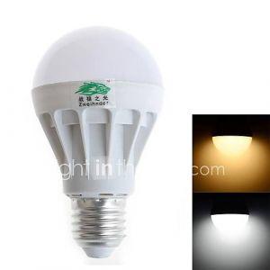 Ampoule Globe 7 W- E26/E27 600 lm- AC 85-265 V- 1 pièces