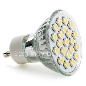 Spots (Blanc chaud MR16 - 3.5 W- GU10 220 lm- AC 100-240