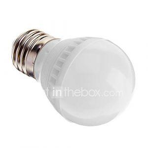 Ampoule Globe (Blanc froid , Décoratif) - A - 3 W- E26/E27 250-280 lm- AC 100-240