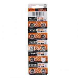 LR1130 1.5v haute capacité alcalines piles boutons (10-pack)