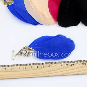Sweet (Triangle) alliage d'or Boucles d'oreilles (Noir, Blanc, Bleu, Rose) (1 paire)