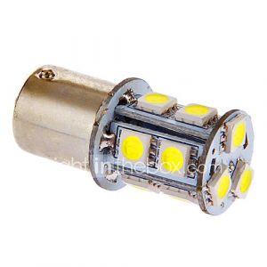 BA15S/1156 3W 13x5050SMD 117LM 6000-7000K lumière blanche fraîche Ampoule LED pour la voiture (12V DC)