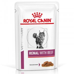 Royal Canin Renal Sachets Boeuf pour Chat 4 x 12 sachets