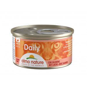 Almo Nature Daily Mousse Saumon 85g Par 24 portions