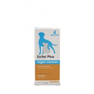 Exitel Plus Vermifuge pour Chien (à partir de 0,5 kg) 4 Comprimés