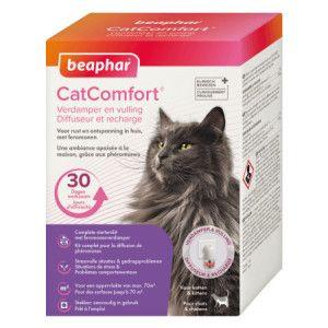 Beaphar CatComfort Diffuseur pour chat 2 diffeuser + 2 recharge de 48 ml
