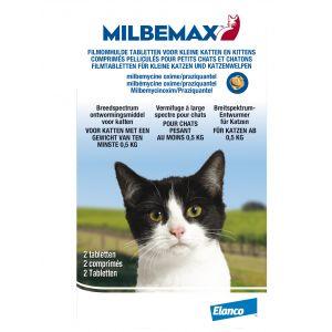 Milbemax Vermifuge Small pour chat et chaton 4 Comprimés