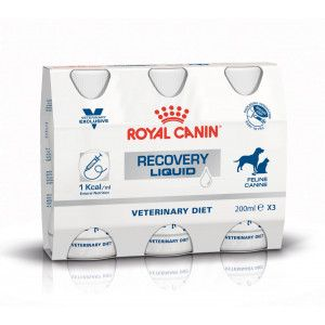 Royal Canin Veterinary Recovery Liquid pour chien et chat 3 x 200 ml