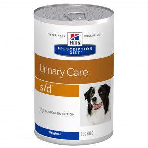 Hill's Prescription Diet Urinary Care s/d conserve pour chien 4 x 12 boites