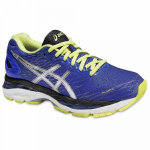 Running Asics Gel Nimbus 18 - Blue Purple / Silver / Sunny Lime - Taille EU 37