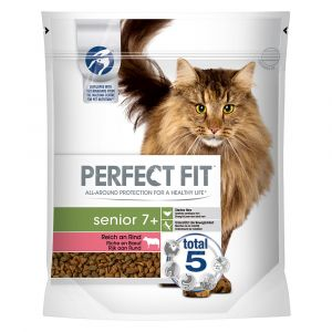 PERFECT FIT Senior 7+ Riche en bœuf pour chat  - 750 g