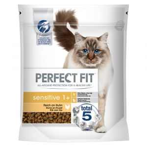 PERFECT FIT Sensitiv 1+ Riche en poulet pour chat - 750 g
