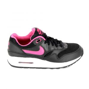 NIKE Air Max 1 JR Noir Rose 807605-006