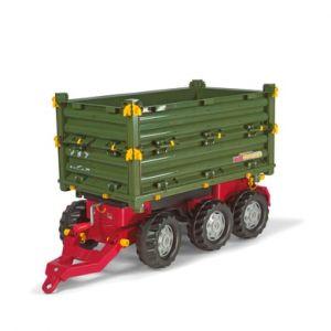 rolly®toys Remorque benne pour tracteur enfant rollyMulti 125012