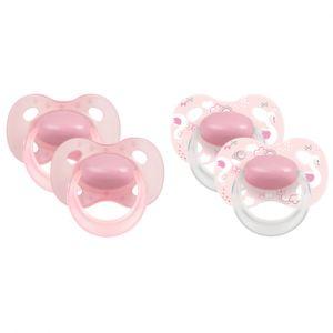 Medela Baby Original 6-18 mois DUO Sig nature 4 pièces en rosé