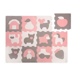Hakuna Matte Tapis puzzle - ferme (120 x 90 cm)