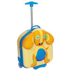 Bino Valisette trolley enfant Happy chien