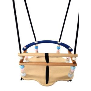 Hess  Siège de balançoire bébé de Luxe multicolore