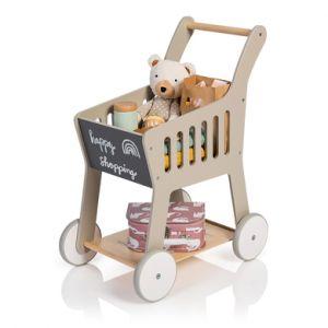 MUSTERKIND® Caddie enfant Rubus bois, gris/naturel