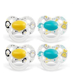Medela Baby Original du 18ème mois DUO Sig nature 4 pièces en jaune et turquoise