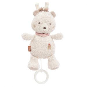 Babysun Peluche musicale ourson Pérou beige