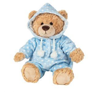 Teddy HERMANN ® pyjama ours bleu 30 cm