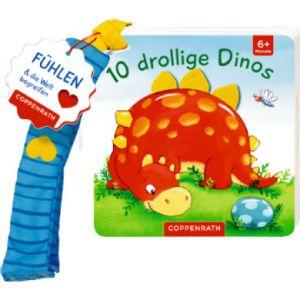 COPPENRATH Mon premier livre de sensations pour le : Buggy 10 comiques Dinos