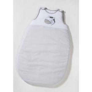 Easy Baby  Gigoteuse Zèbre gris, blanc Gr. 90 cm,70 cm