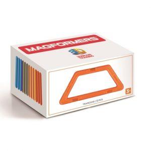 MAGFORMERS® Jeu magnétique Trapezoid 12 pièces