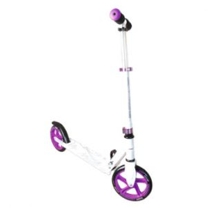 Authentic Sports  Trottinette enfant Muuwmi alu, blanc/violet, 200 mm lilas