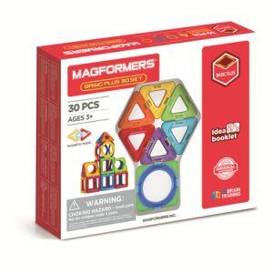 MAGFORMERS® Jeu magnétique Basic Plus 30 pièces