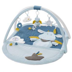 Babysun Tapis d'éveil 3D little castle bleu