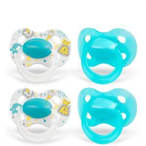 Medela Baby Original 6-18 mois DUO Sig nature 4 pièces en turquoise
