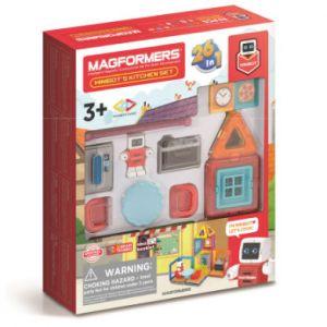 MAGFORMERS® Jeu magnétique Minibot's Kitchen 33 pièces