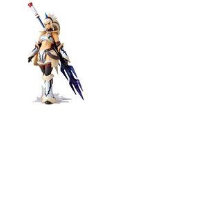 Monster Hunter X figurine Vulcanlog Monhan Revo Hunter Swordswoman Kirin Series 16 cm