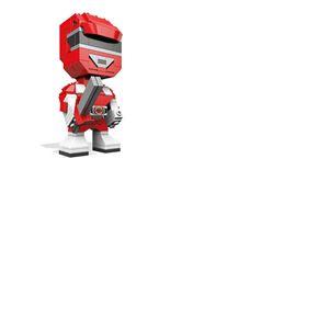 Power Rangers Mega Construx Kubros jeu de construction Red Ranger 14 cm