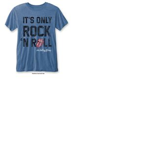 T-shirt The Rolling Stones: It's Only Rock 'n Roll with Burn Out Finishing