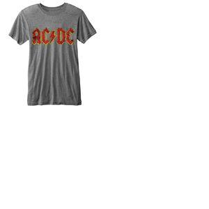 T-shirt AC/DC Burn-out: Logo