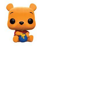 Winnie l´ourson Figurine POP! Disney Vinyl Winnie The Pooh (Flocked) 9 cm