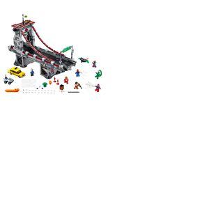 LEGO® Marvel Super Heroes™ Spider-Man Le combat suprême sur le pont des Web Warriors
