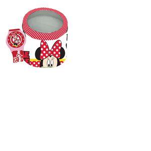 Montre Minnie Mouse avec Boîte en Métal