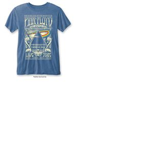 T-shirt Pink Floyd: Carnegie Hall with Burn Out Finishing
