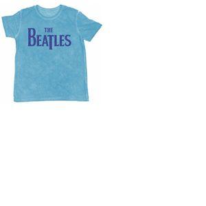 T-shirt The Beatles Burn-out: Drop T Logo