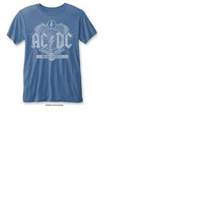 T-shirt AC/DC: Black Ice with Burn Out Finishing