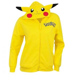 Sweat à Capuche Pokémon - Pikachu