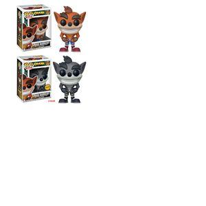 Crash Bandicoot assortiment POP! Games Vinyl figurines Crash Bandicoot 9 cm (6)