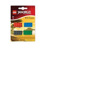 LEGO Ninjago pack 4 gommes