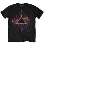 T-shirt Pink Floyd - Dark Side Of The Moon Pink Splatter Special Edition