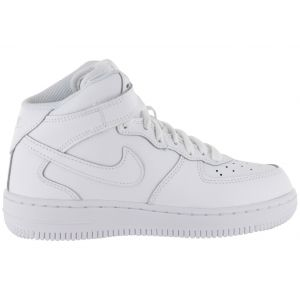 Nike Air Force 1 Mid Enfant Blanche 35 Baskets